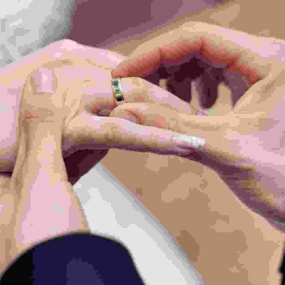 Ring symbolizes love for life!